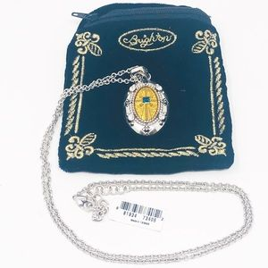 NEW BRIGHTON Devotion Amulet Necklace & Velvet Bag